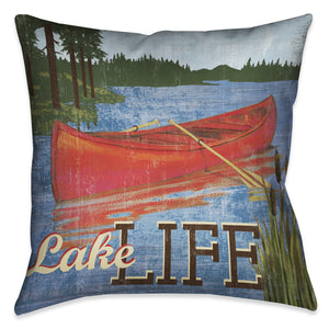 Lake Living Indoor Decorative Pillow