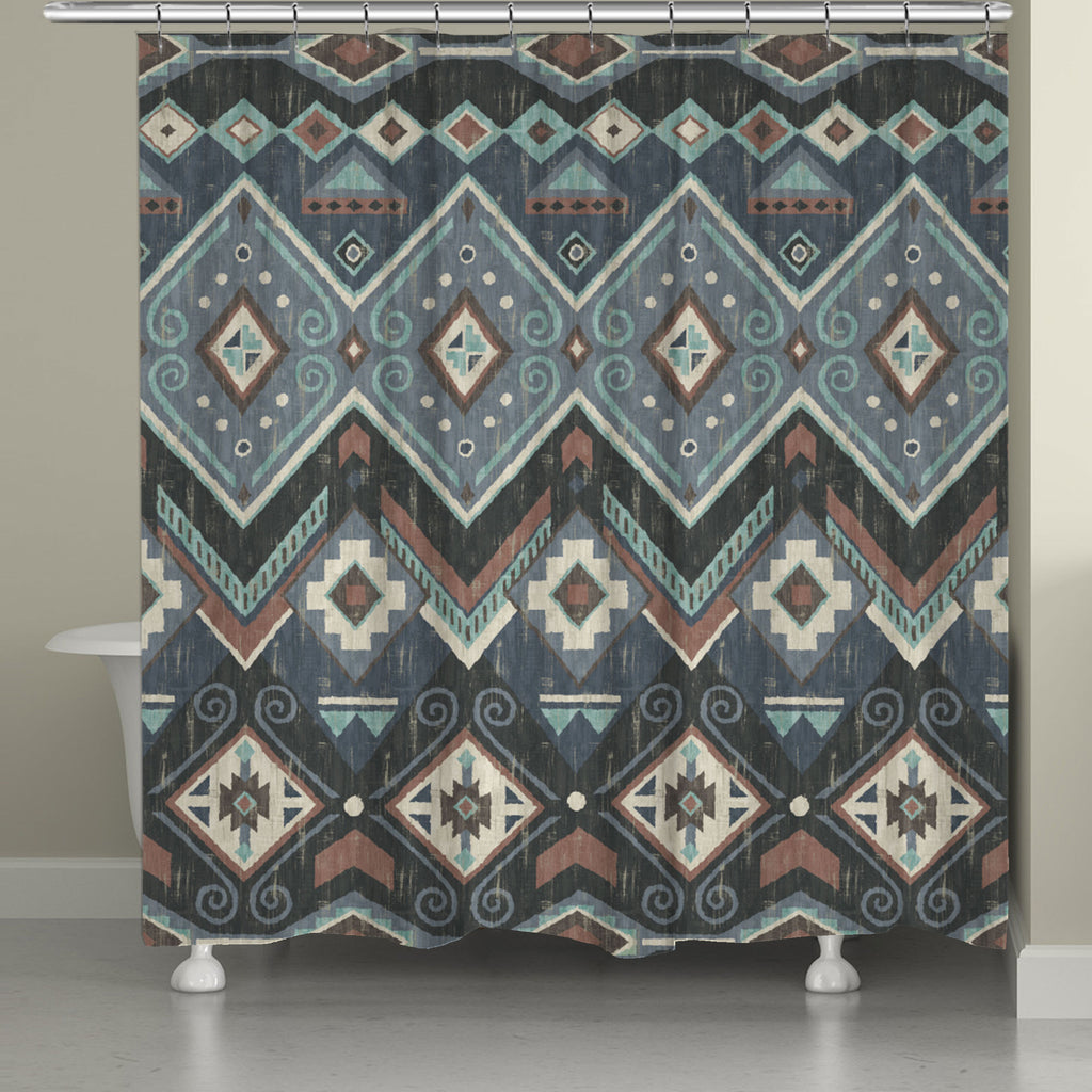 Lake Placid Shower Curtain