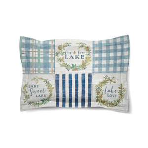 Lakeside Retreat Comforter Sham