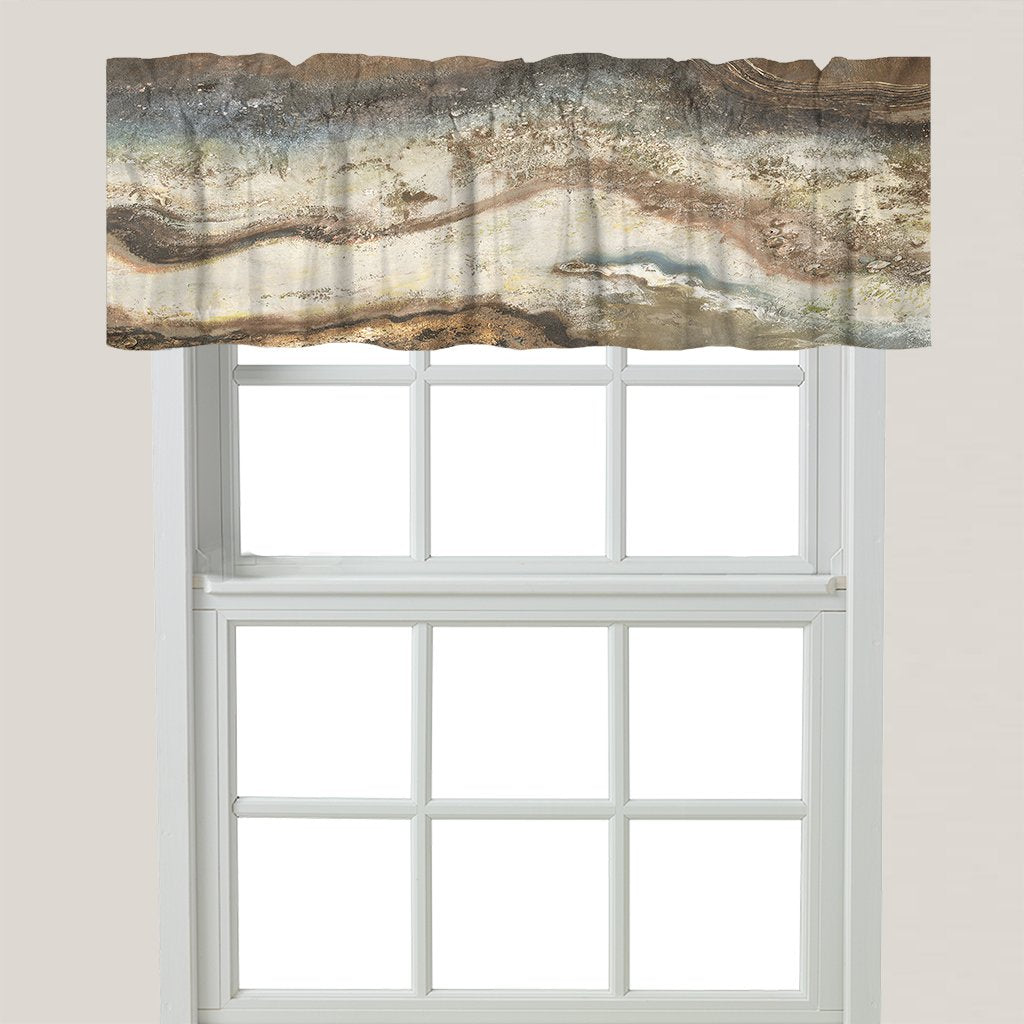 Lava Flow Window Valance
