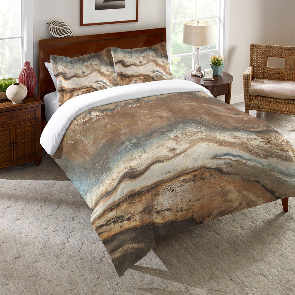 Lava Flow Duvet Cover
