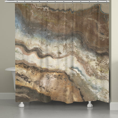 Lava Flow Shower Curtain