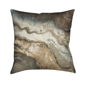 Lava Flow Outdoor Decorative Pillow