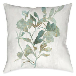 Leaf Marking Outdoor Decorative Pillow