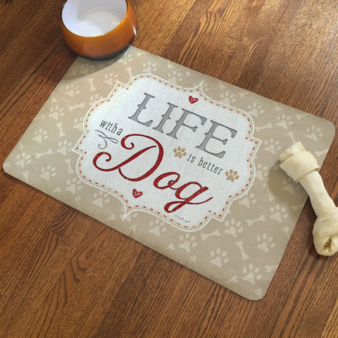 Life with a Dog Pet Mat