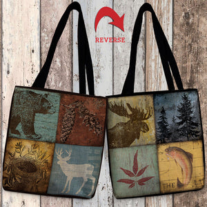 Lodge I Canvas Tote Bag