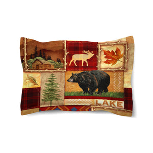 Lodge Collage Comforter Sham