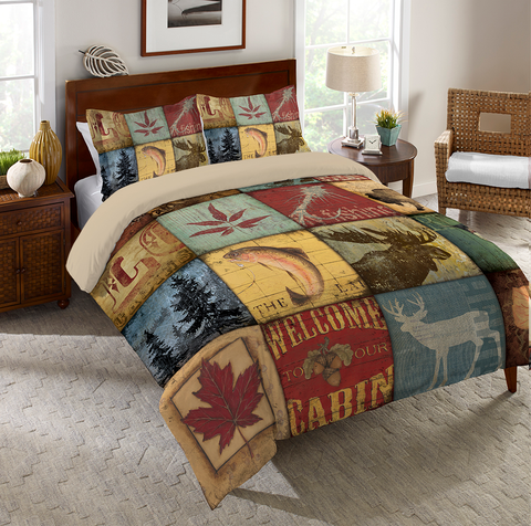 Lodge Patch Comforter