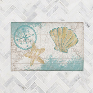Look to the Sea Accent Rug