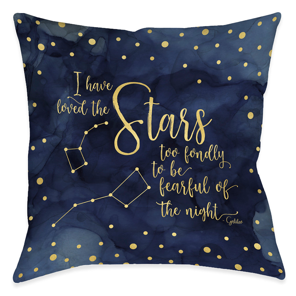 Love The Stars Indoor Decorative Pillow