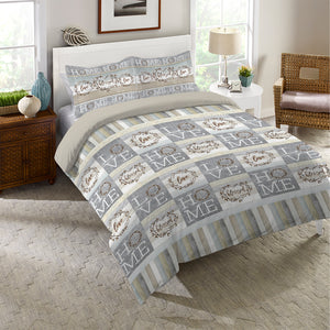 Loving Home Comforter Set