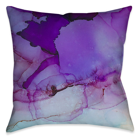 Luminescent Jewel Tones Outdoor Decorative Pillow