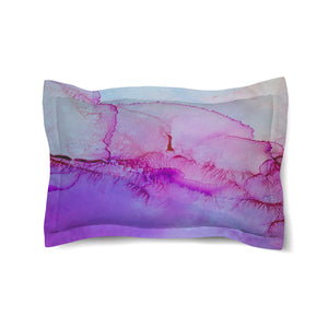 Luminescent Jewel Tones Comforter Sham