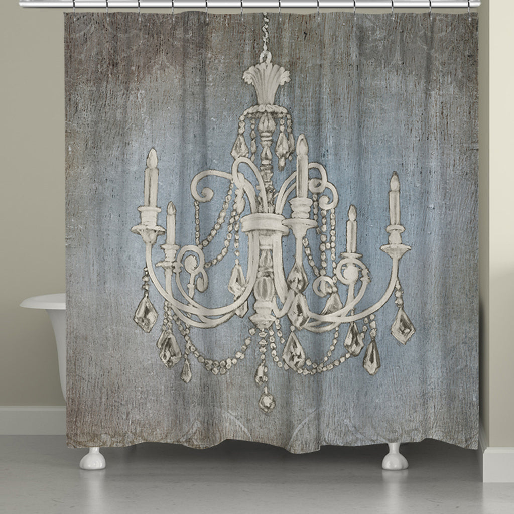 Luxurious Lights Shower Curtain – Laural Home