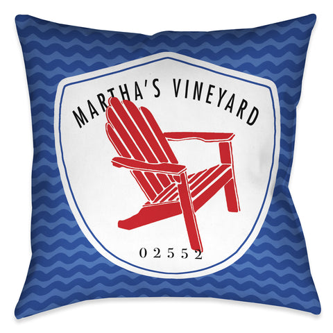 Martha's Vineyard I Indoor Decorative Pillow