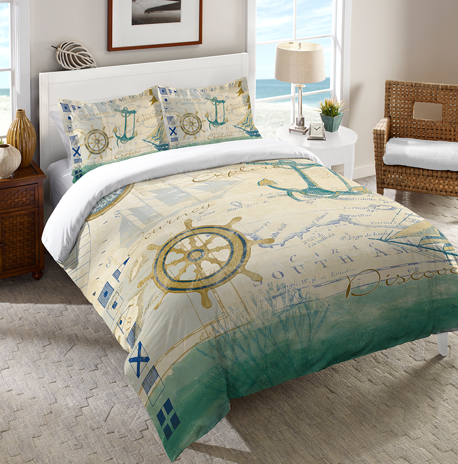 Mariner Sentiment Duvet Cover