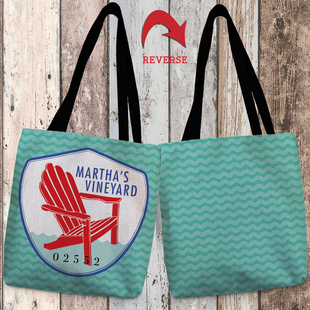 Martha's Vineyard II Canvas Tote Bag