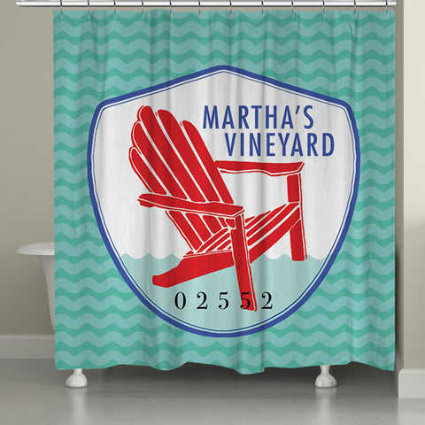 Martha's Vineyard II Shower Curtain