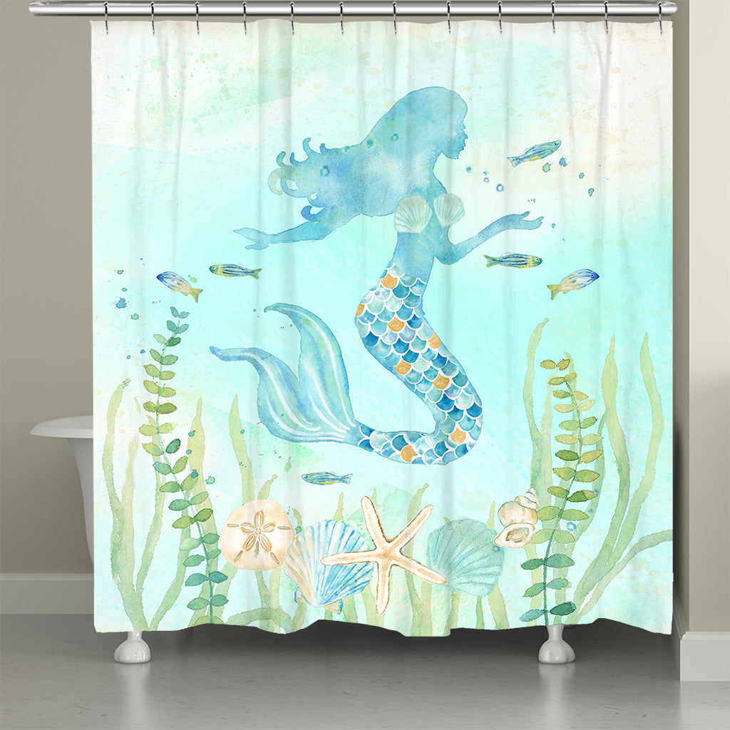 Mermaid Dream Shower Curtain
