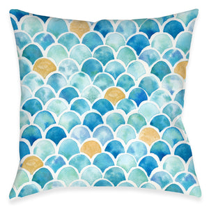 Mermaid Magic Outdoor Decorative Pillow