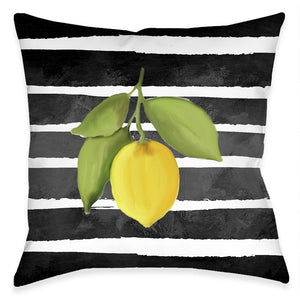 Modern Lemons Indoor Decorative Pillow