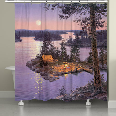 Moondance Shower Curtain