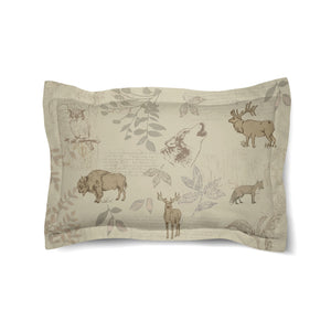 Mountain Wildlife Duvet Sham