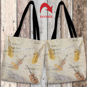 Musical Gift Tote Bag