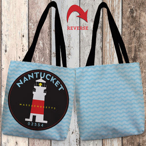 Nantucket II Canvas Tote Bag