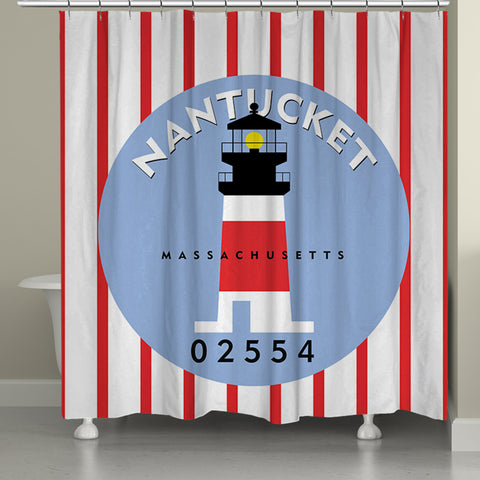 Nantucket I Shower Curtain