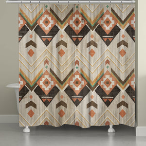 Natural Lodge Shower Curtain