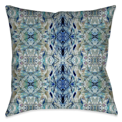 Nature Gone Blue Indoor Decorative Pillow