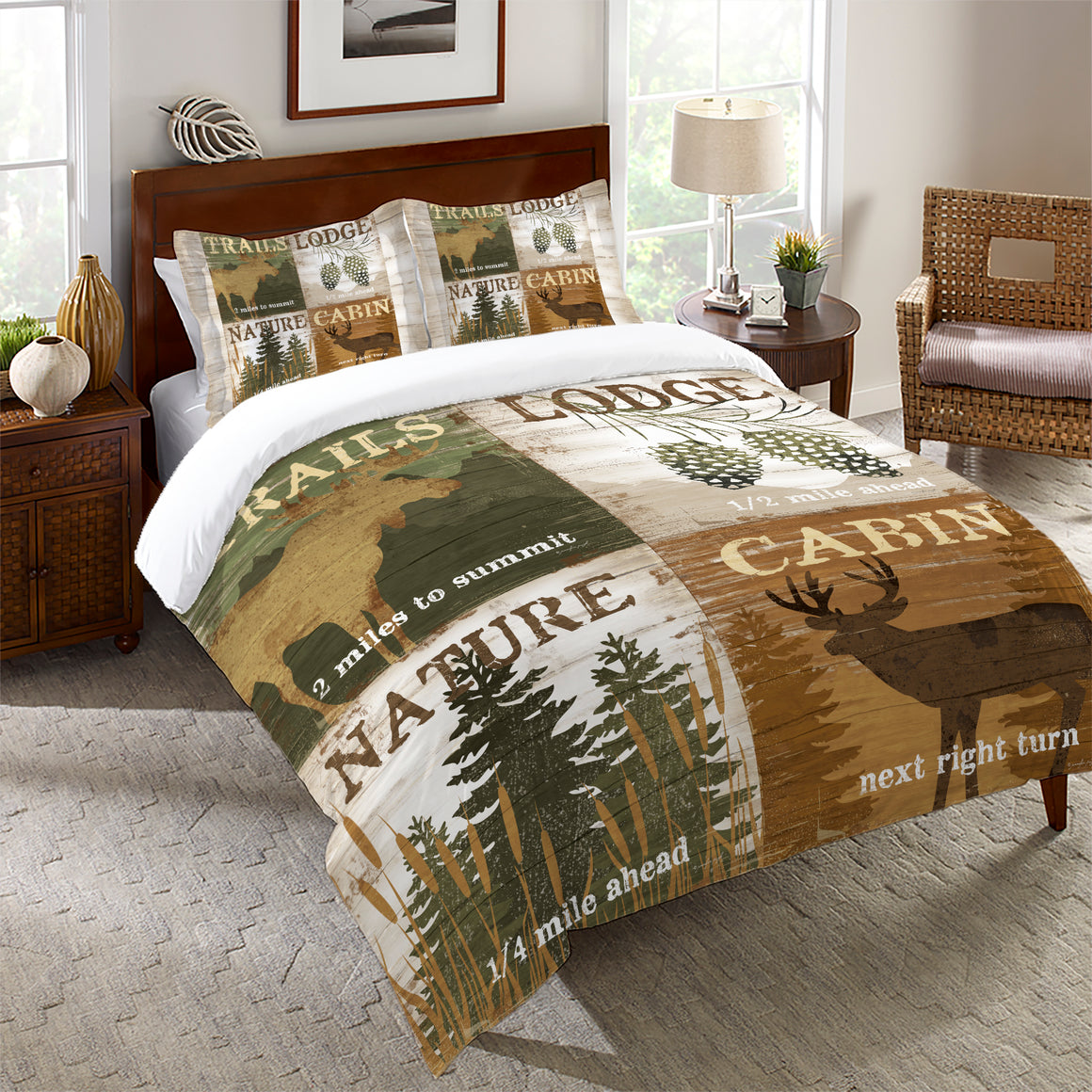Nature and Lodge Comforter