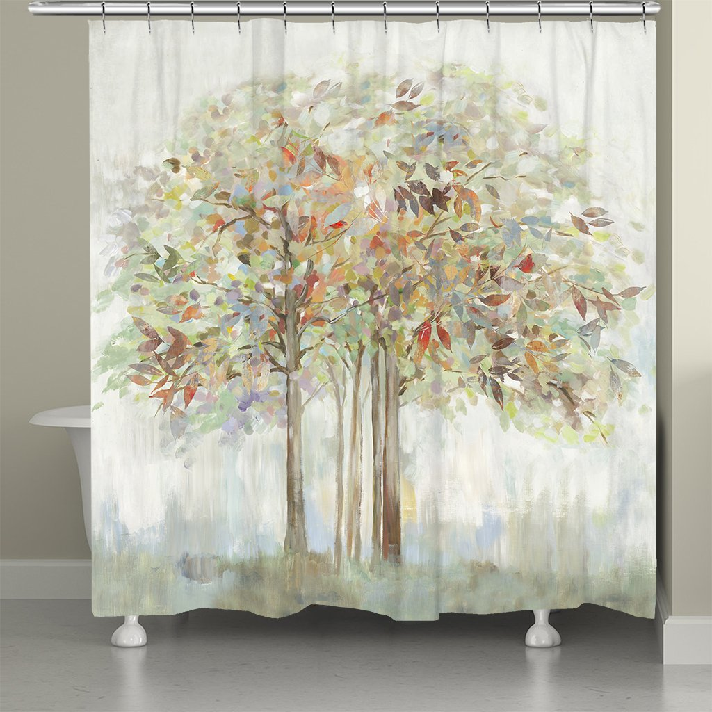 Nature's Melody Shower Curtain