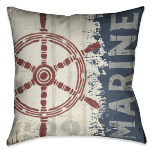 Nautical VI Indoor Decorative Pillow