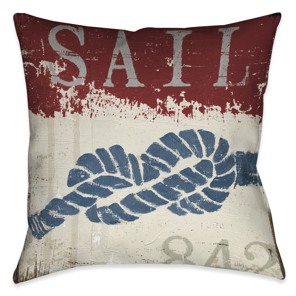 Nautical III Indoor Decorative Pillow