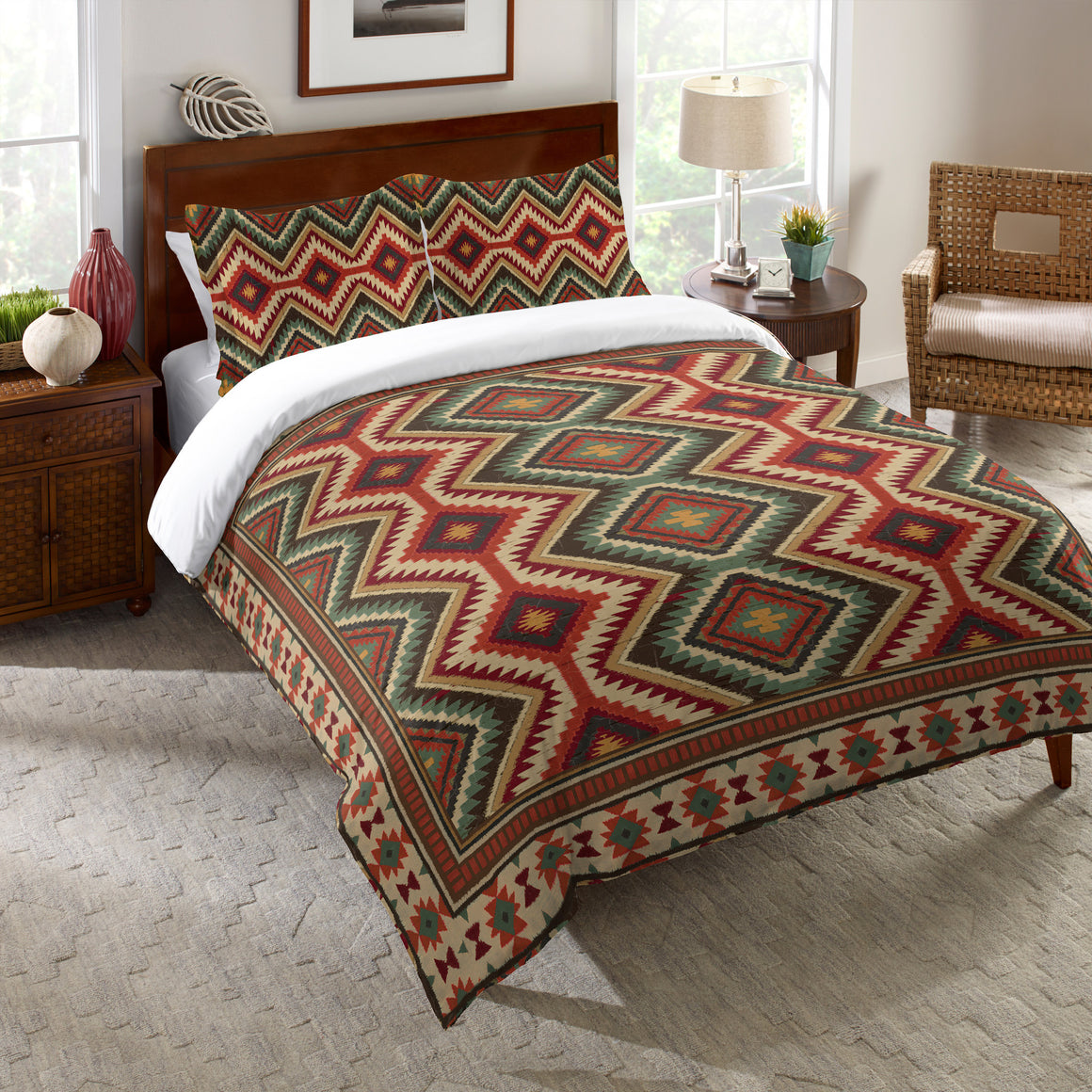 Country Mood Navajo Comforter
