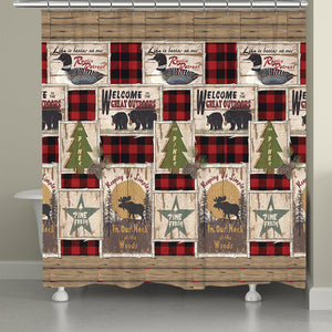 Neck Of The Woods Shower Curtain