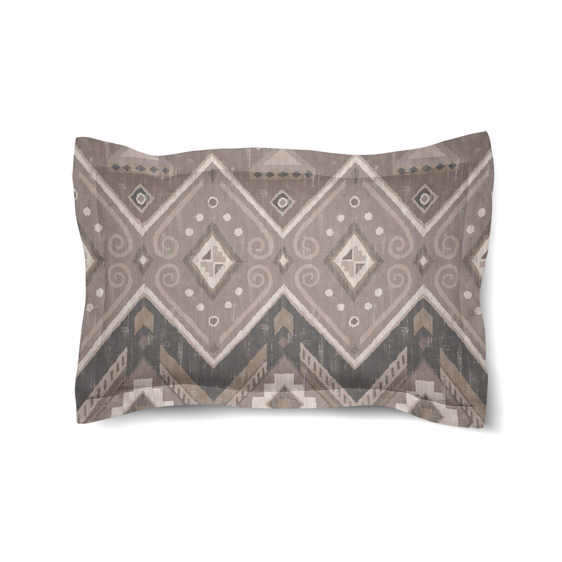 Neutral Aztec Duvet Sham