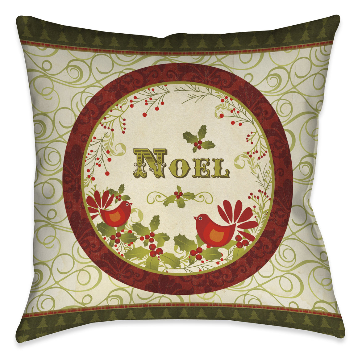 Noel Decorative Indoor Pillow
