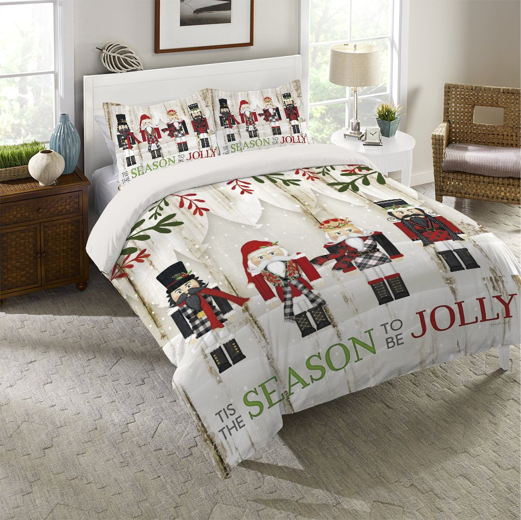 Nutcracker Christmas Comforter
