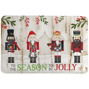 Nutcracker Christmas Memory Foam Rug