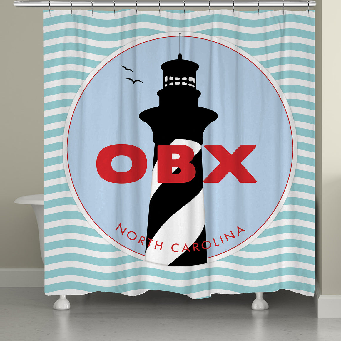 OBX Shower Curtain