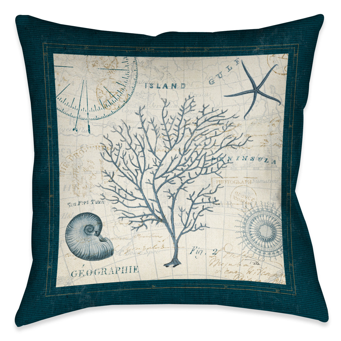 Ocean Life IV Pillow