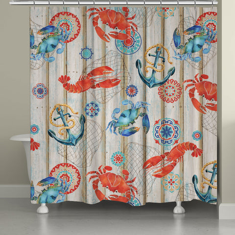 Fresh Catch Shower Curtain