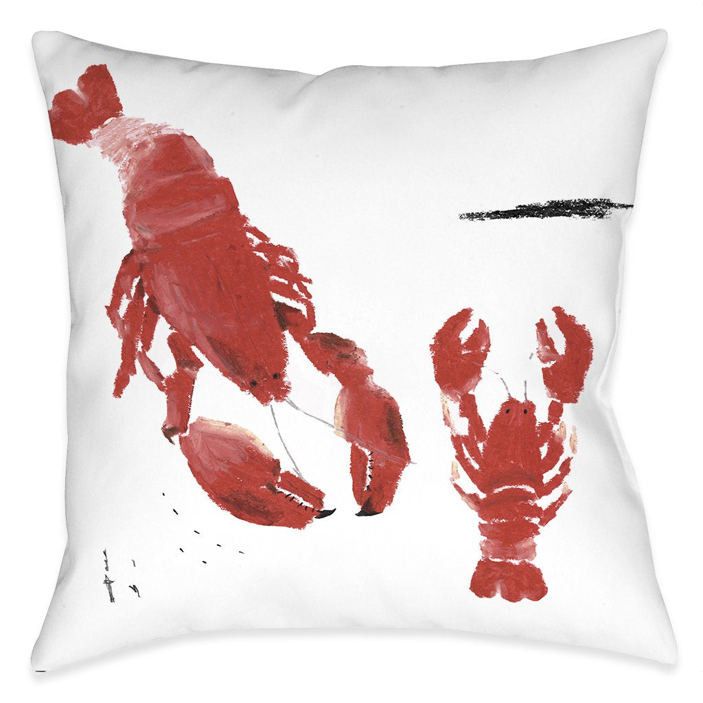 Oh Lobster Indoor Decorative Pillow