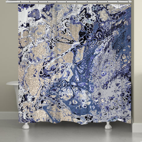 Ornate Energy Shower Curtain