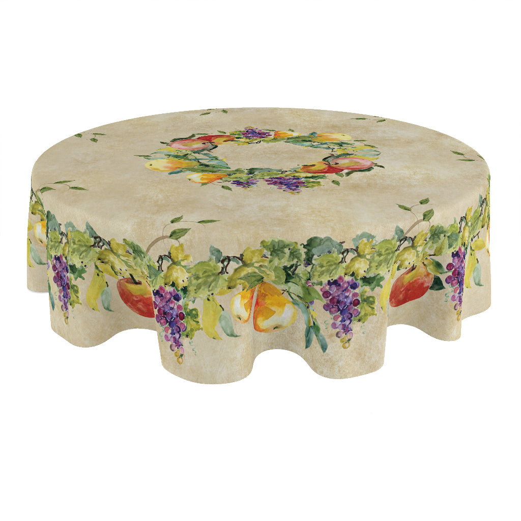 Palermo Round Tablecloth