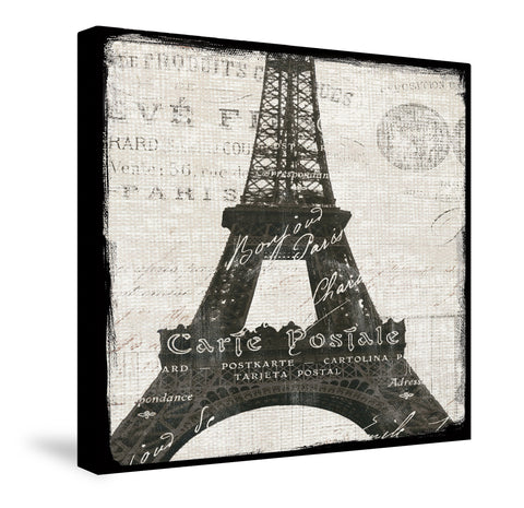 Paris Eiffel Canvas Wall Art