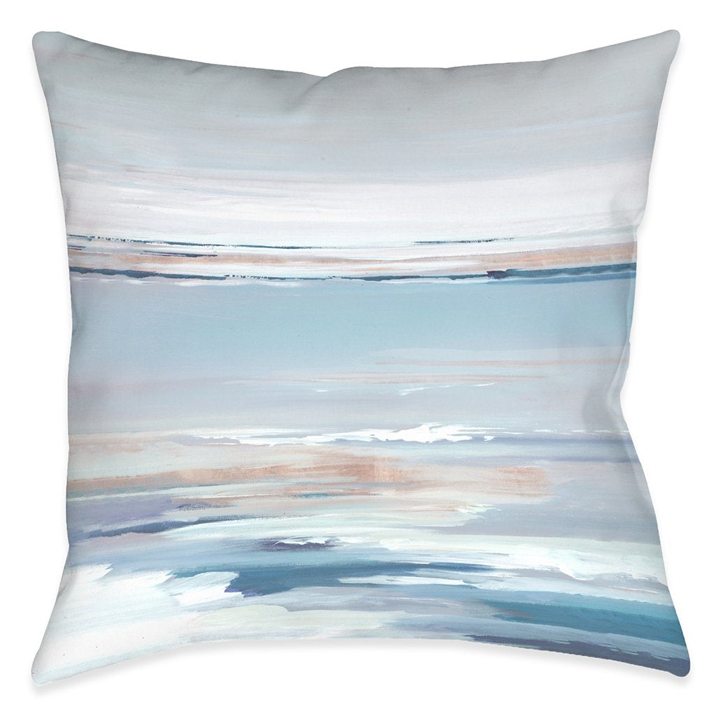 Pastel Horizon Outdoor Decorative Pillow